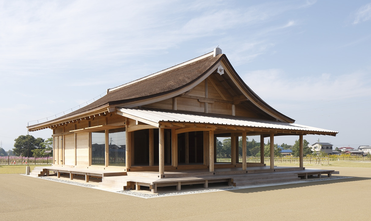 The Nishiwakiden in the Saiku Heian Era Park