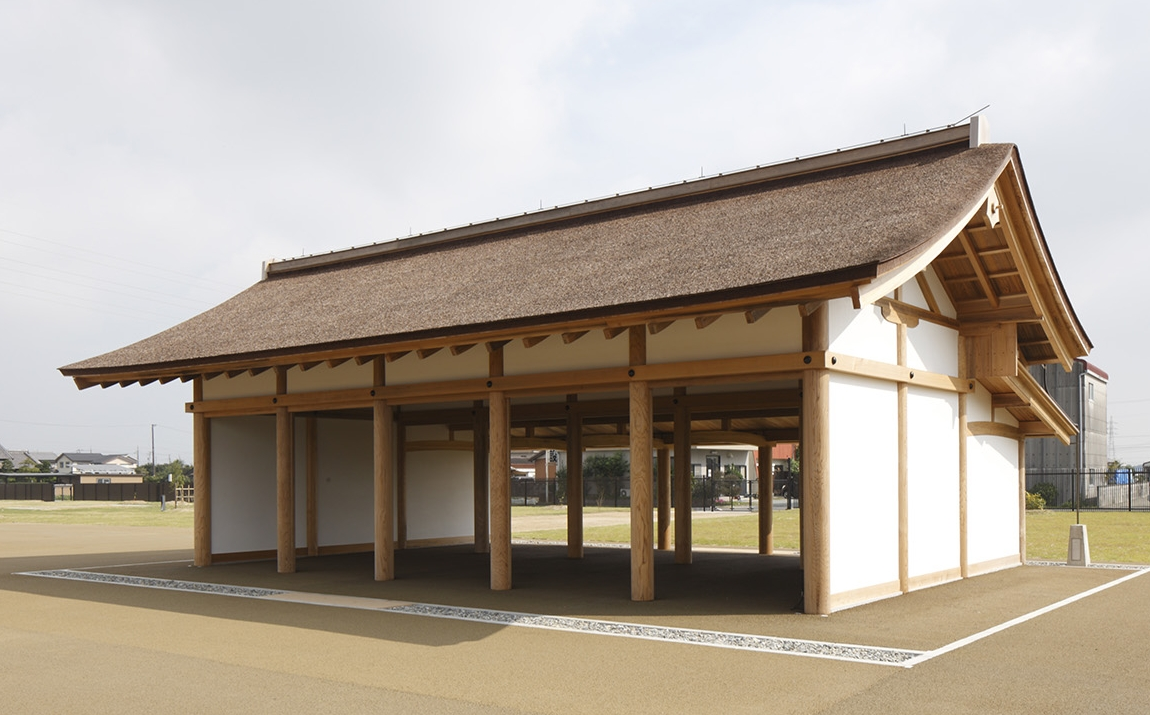 The Higashiwakiden in the Saiku Heian Era Park